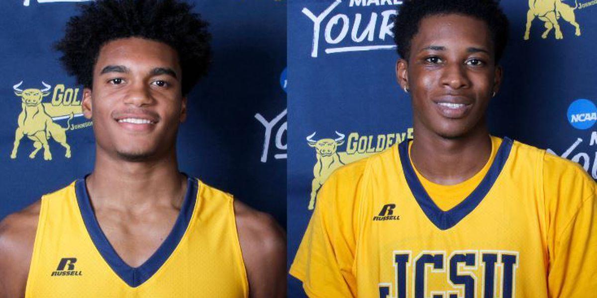 JCSU Men's Basketball Duo Earns CIAA Weekly Honors
