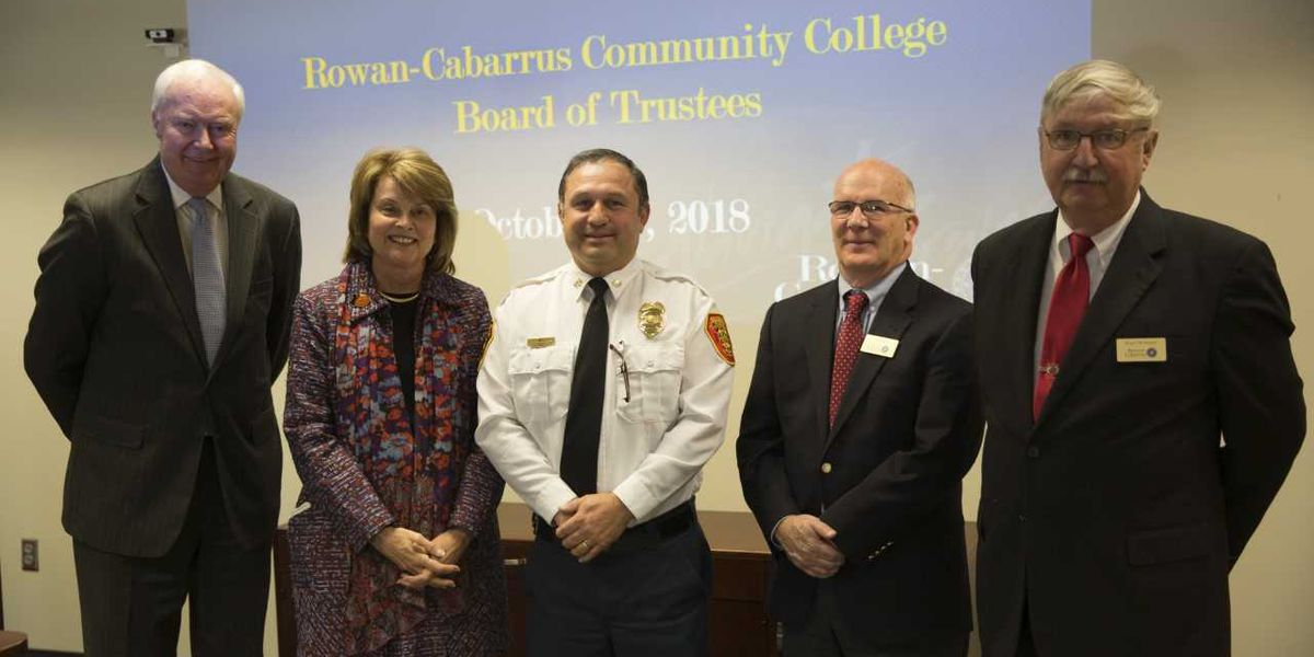 City of Salisbury & Salisbury Fire Department donate fire engine to Rowan-Cabarrus Community College