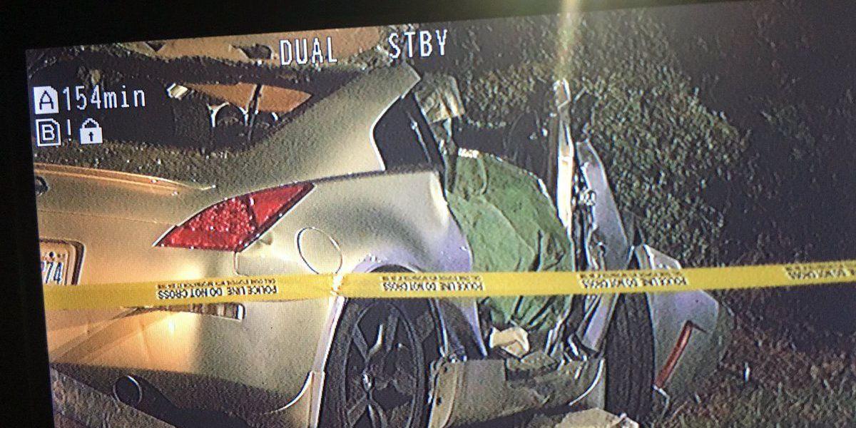 One hospitalized in Ballantyne-area crash