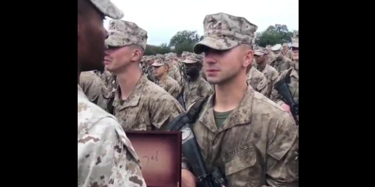 Leukemia survivor achieves dream, becomes United States Marine