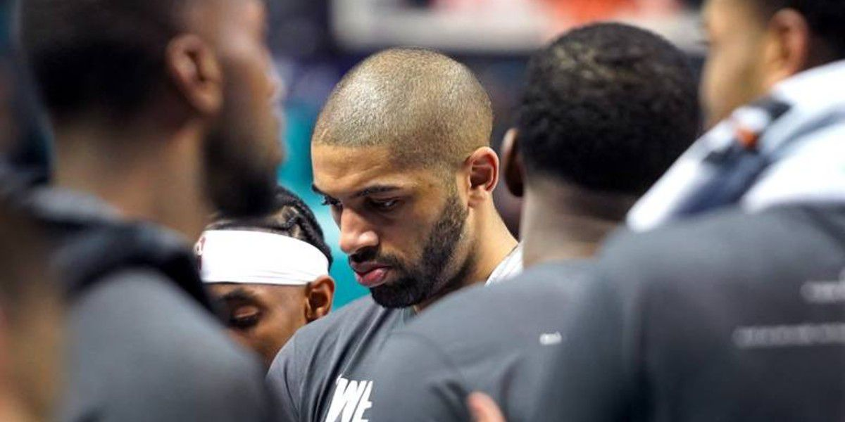 Nic Batum would like to apologize. He knows he's an overpaid Hornets cheerleader