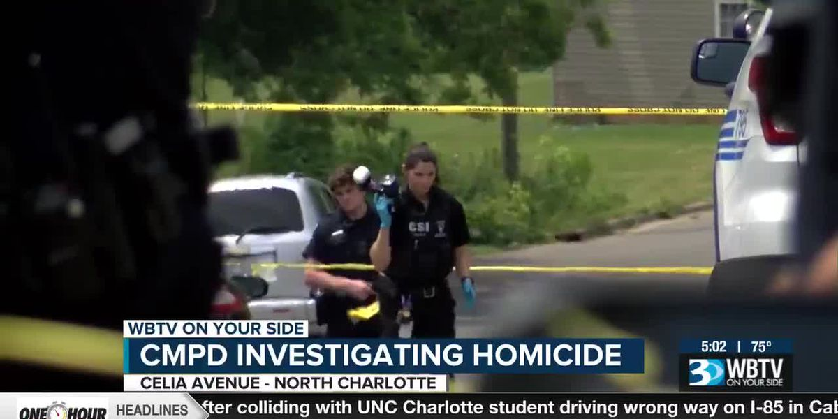 CMPD investigating homicide in north Charlotte