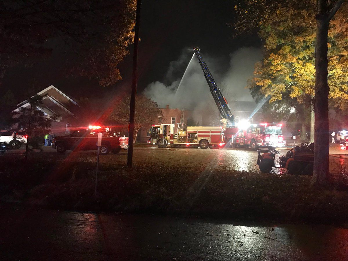 Fire heavily damages historic church in Fort Mill