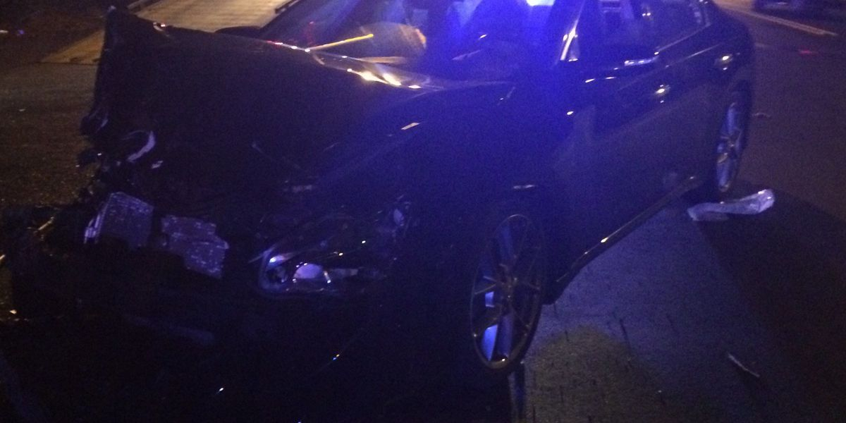 One injured after rollover crash in west Charlotte