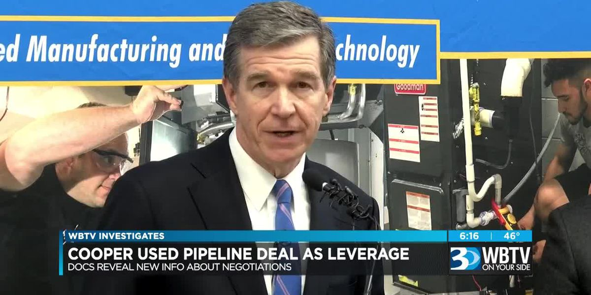 Documents reveal new info about NC pipeline negotiations