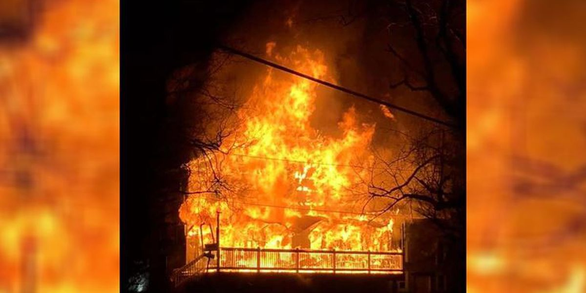 Fire damages historic general store in Ashe County