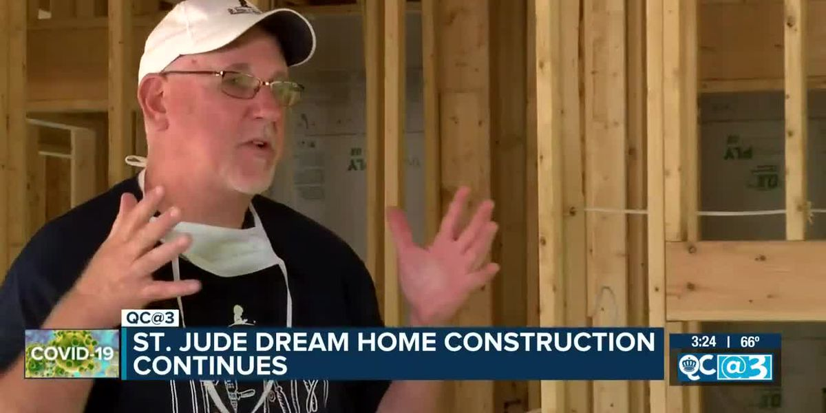 St. Jude Dream Home construction continues