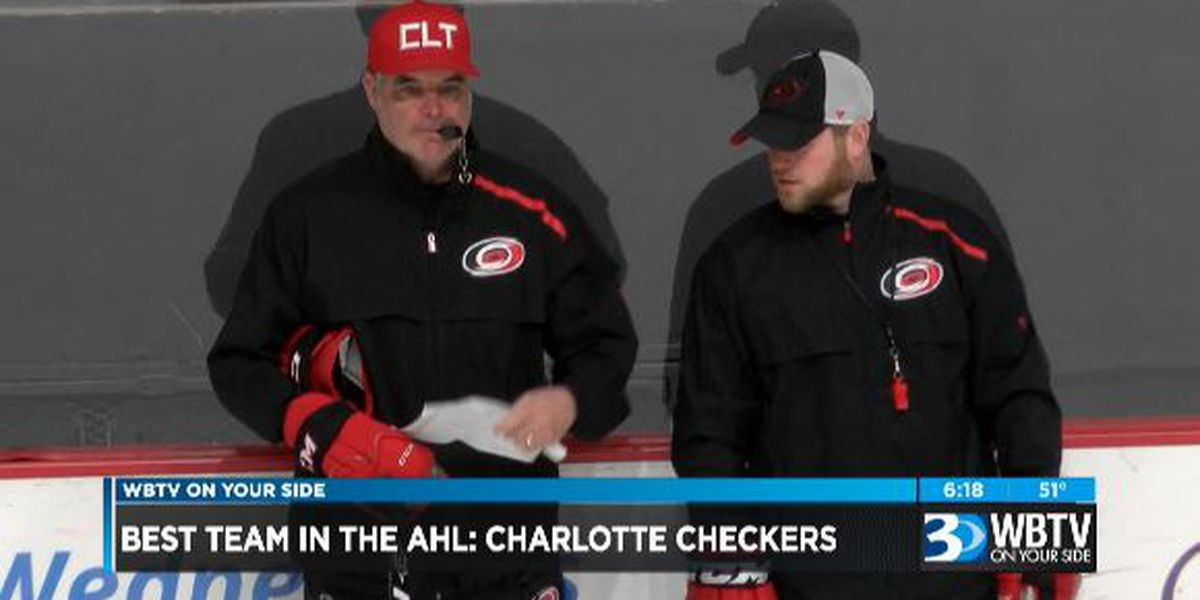 Charlotte Checkers tearing up the AHL