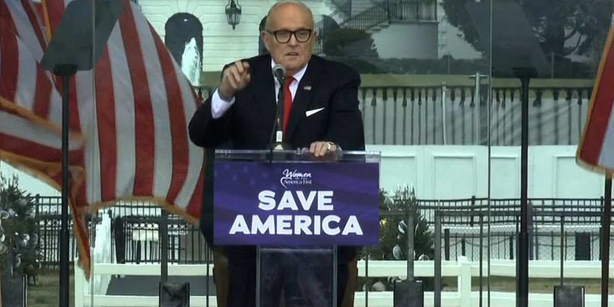 N.Y. State Bar Association opens inquiry into Trump attorney Rudy Giuliani