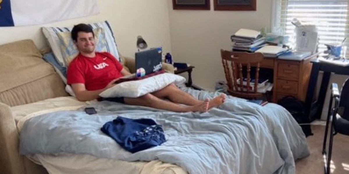 Duke law student recovers from coronavirus, wants others to learn from his experience