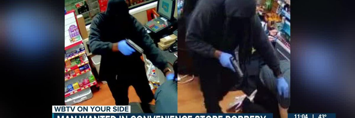 Man wanted in convenience store robbery