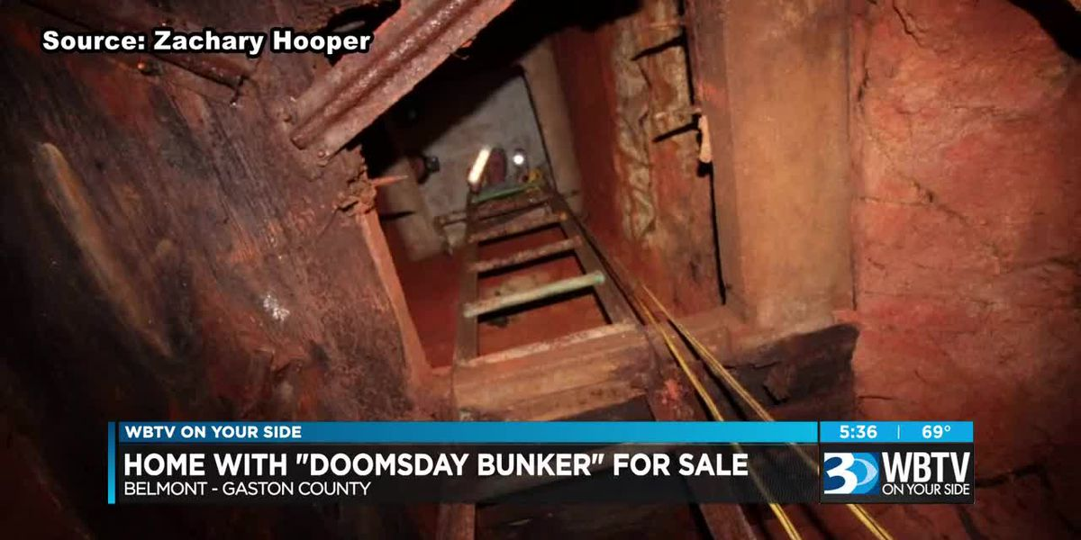Home with 'Doomsday Bunker' for sale