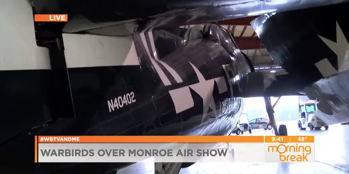 A sneak peek of what to expect from the Monroe Air Show this weekend