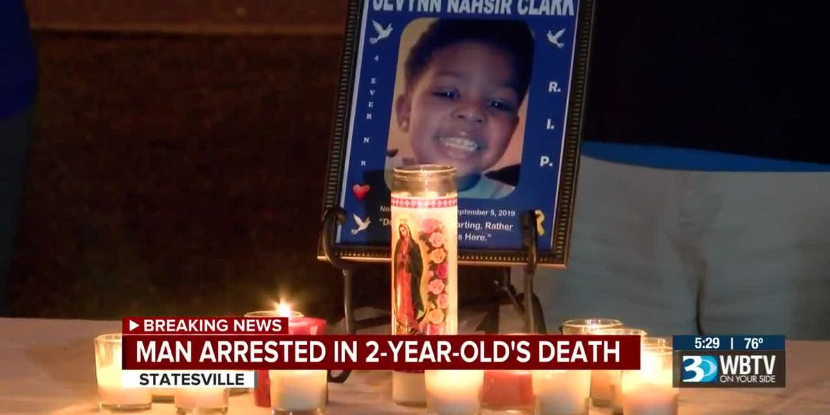 Man arrested in 2-year-old's death
