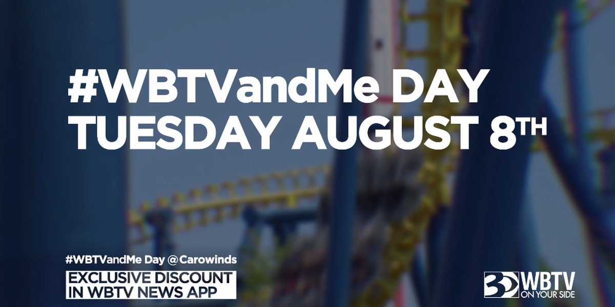 Join WBTV at Carowinds for '#WBTVandMe Day'