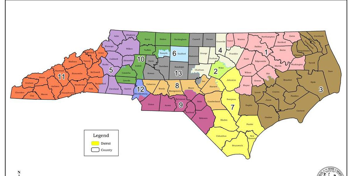 New congressional maps in North Carolina will stand for 2020, court rules