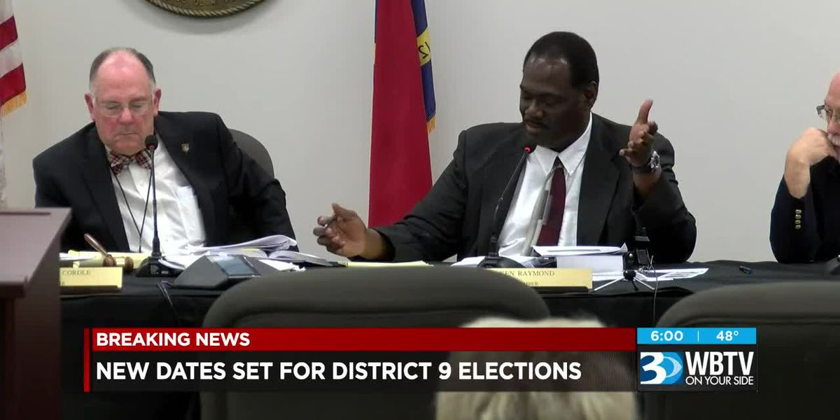 New dates set for District 9 elections