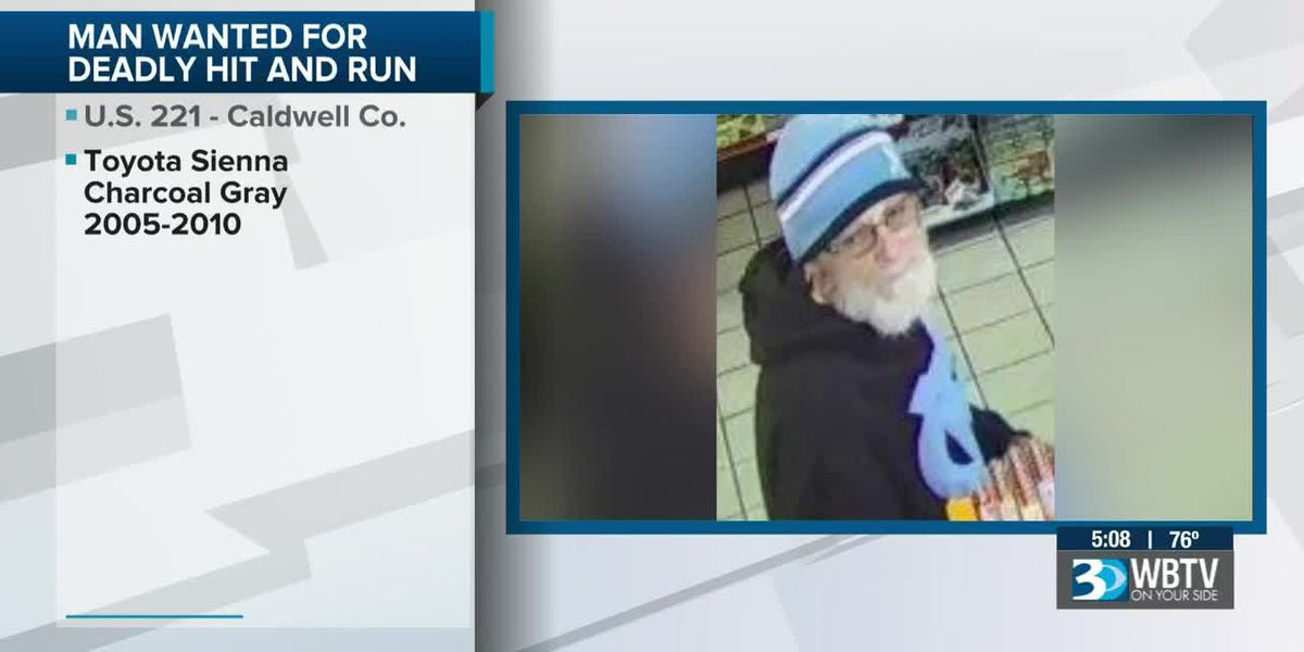 Man wanted in deadly hit-and-run