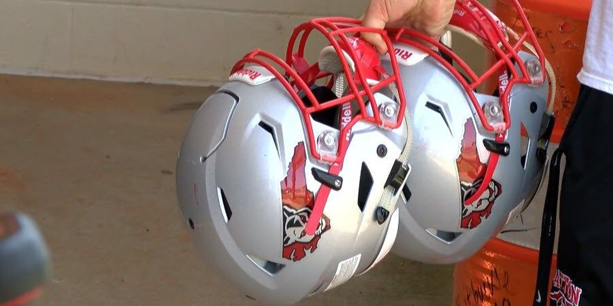 New helmets to monitor hits to the head for Burke County HS football players