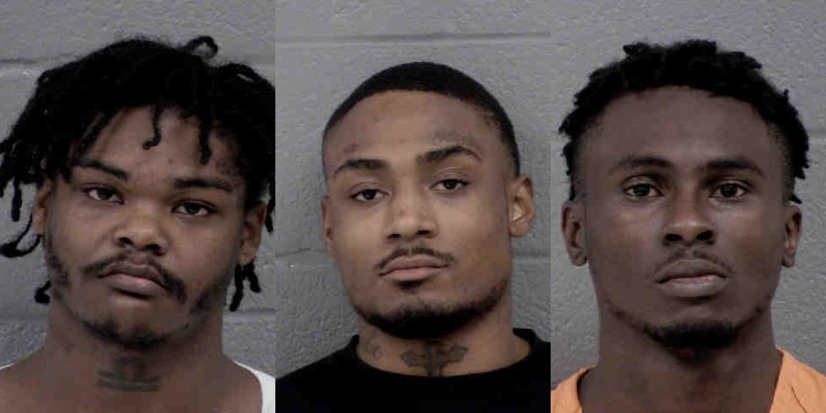 3 men charged, 9-year-old girl injured after shots fired into home, vehicles in Charlotte