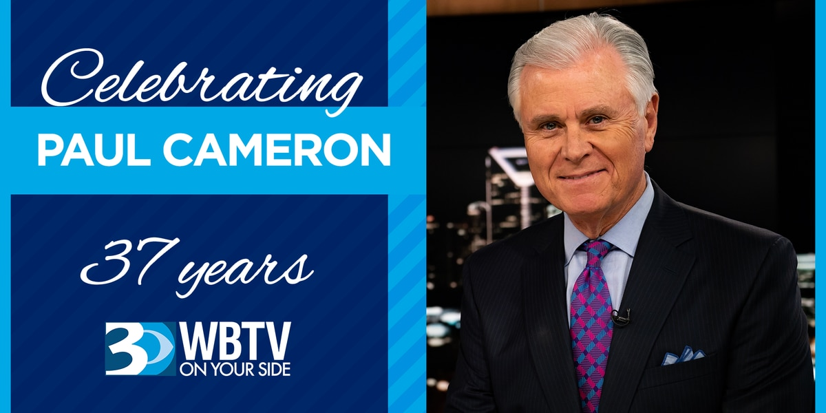 Prominent Charlotte anchorman Paul Cameron retiring after being On Your Side for 37 years