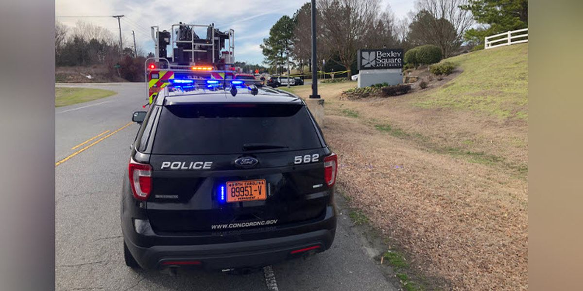 Person shot at apartment complex in Concord, police searching for suspect vehicle