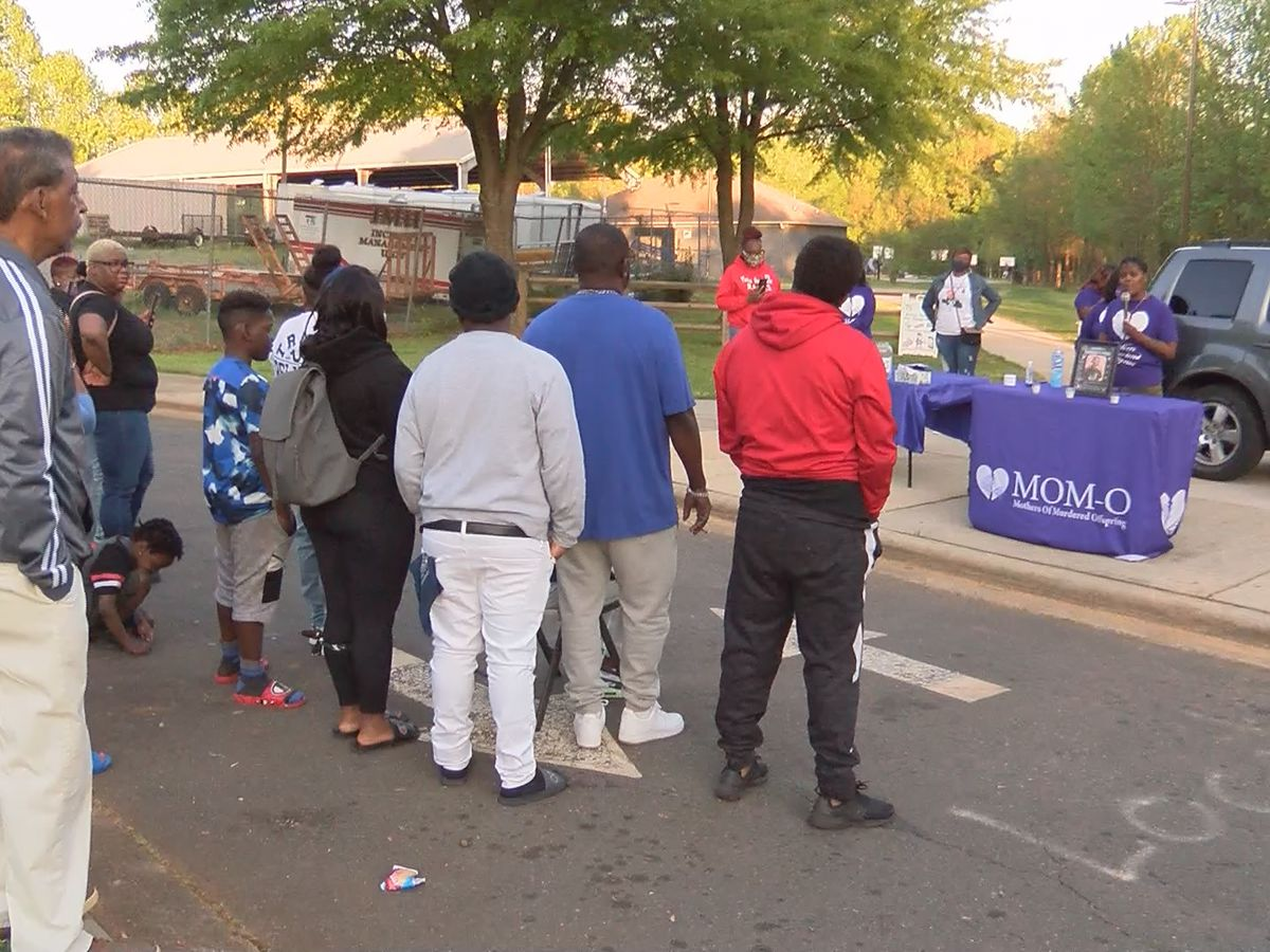 Nearby gunshots force abrupt end for homicide vigil in west Charlotte