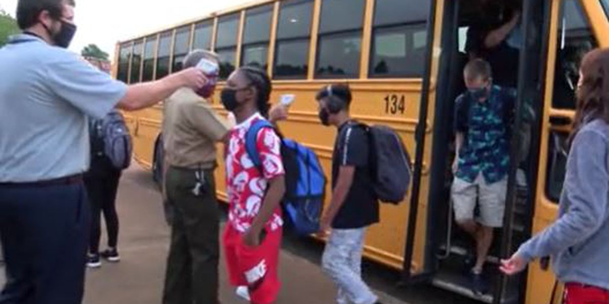 Caldwell County Schools welcome students back to the classroom