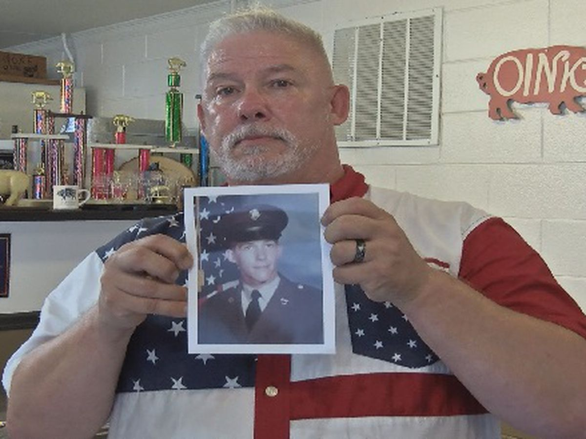 """I put it in my mouth and pulled the trigger, but...God had another plan,"" Midlands vet tells story of attempted suicide to raise awareness"