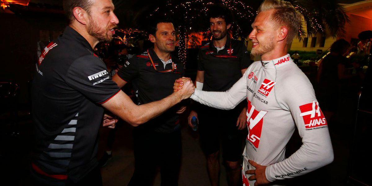 Kannapolis-based Haas F1 Team scores top 5 in Bahrain GP