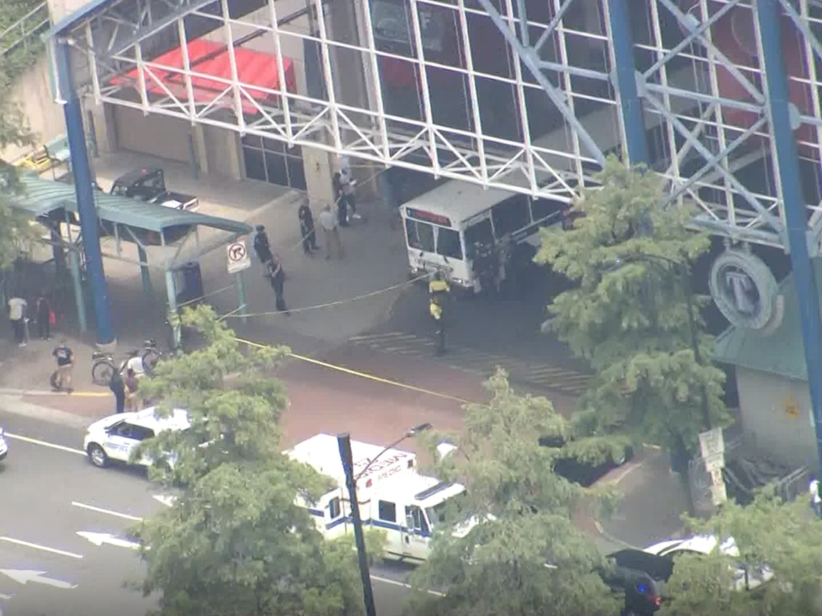 Officials: CATS bus driver shot near uptown transit center, hospitalized