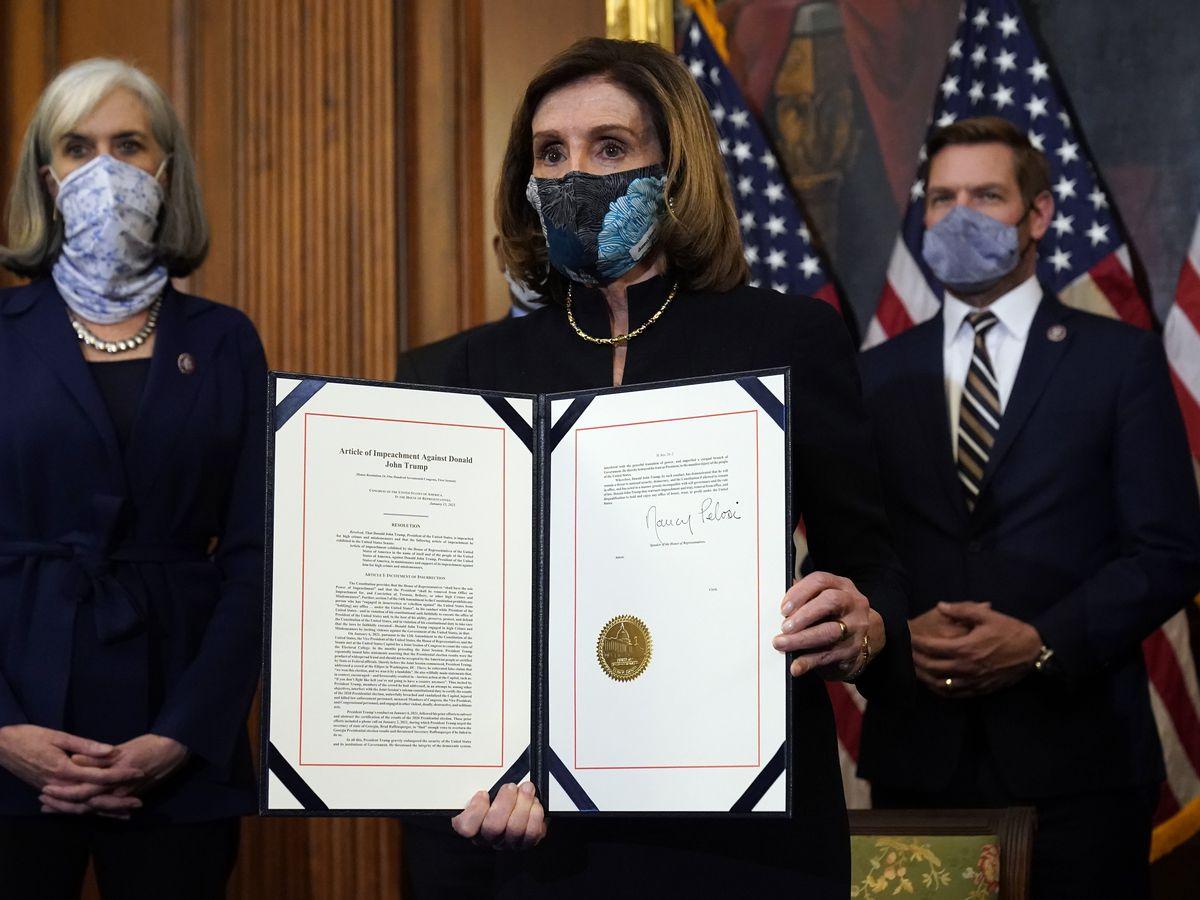 Pelosi's nine impeachment managers hope to 'finish the job'