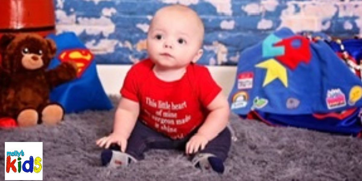 Emerson Holder, almost 1 year old, living with two rare illnesses