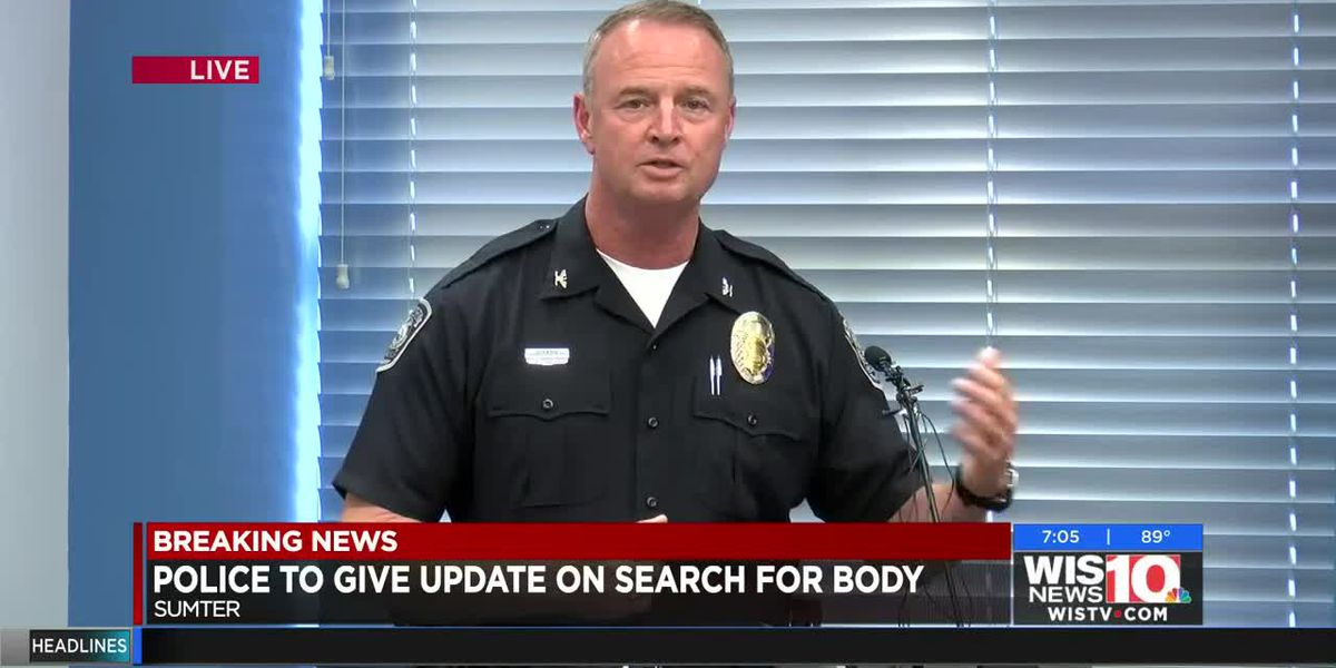 Sumter Police provides update on search for missing 5-year-old girl