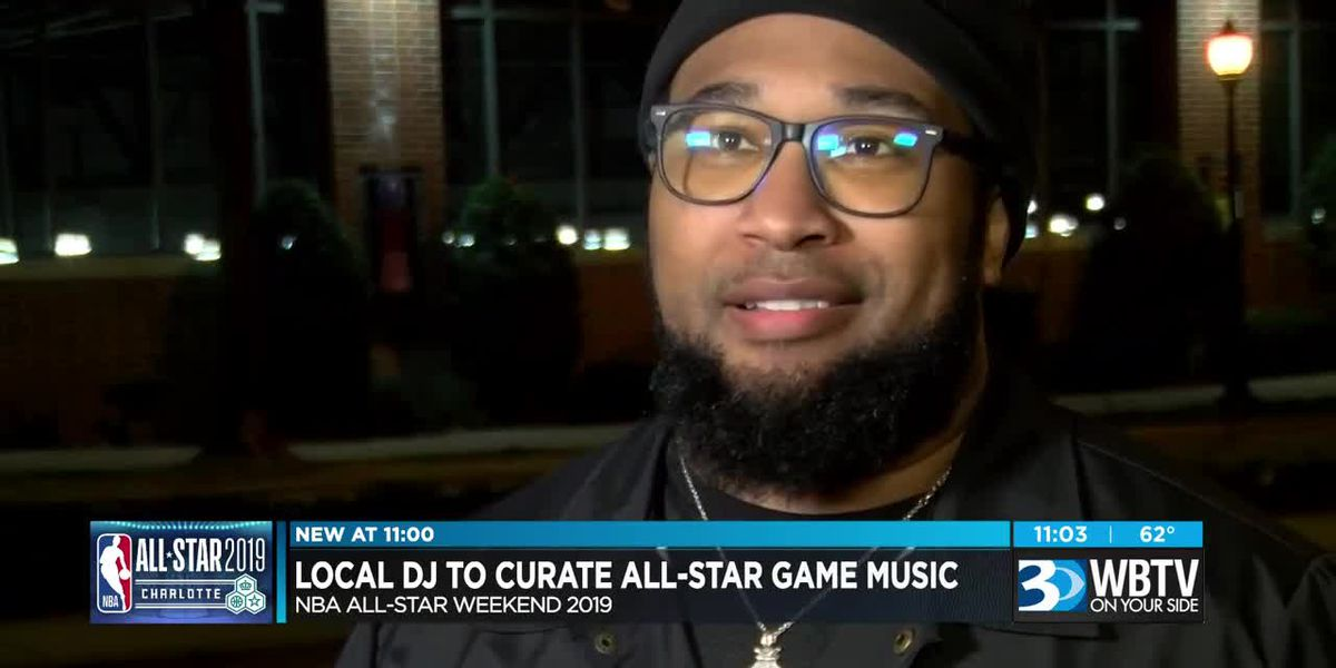 Local DJ participating in NBA All-Star Weekend