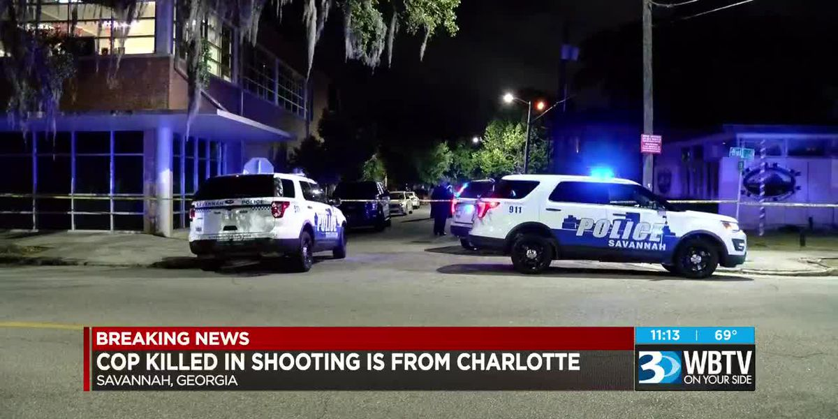 Officer killed in Savannah shooting is from Charlotte