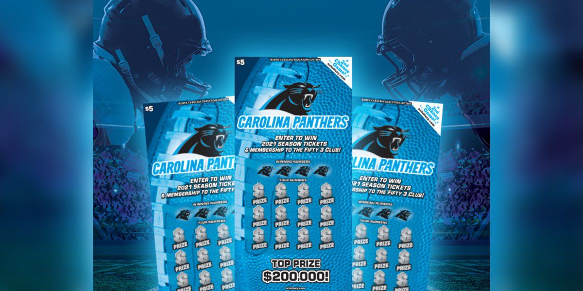 Charlotte man wins $200,000 Carolina Panthers top prize in N.C. lottery