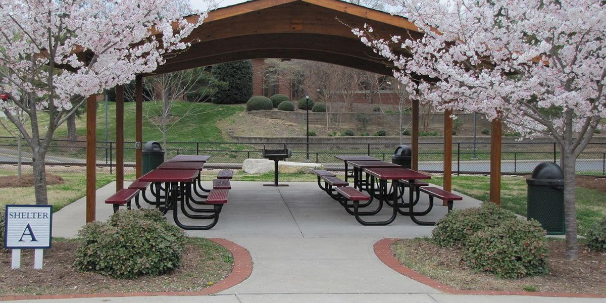 Need a park shelter in Kannapolis for the Spring? Reserve it now