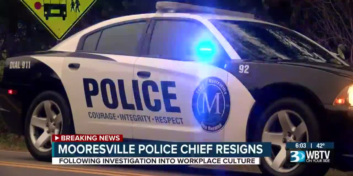 Mooresville Police Chief resigns