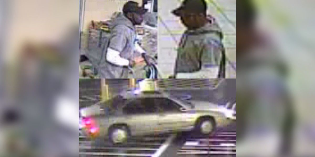 Crime Stoppers: Police release surveillance images of man wanted for robberies at Stonecrest Shopping Center