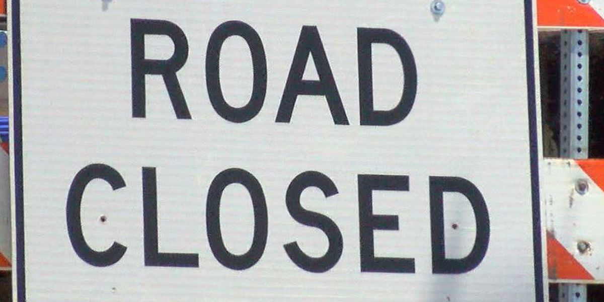 Section of eastern Rowan County road closing for culvert replacement