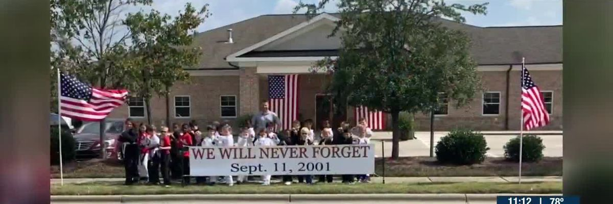 Funeral home believes American flag was taken from front lawn in Union County -