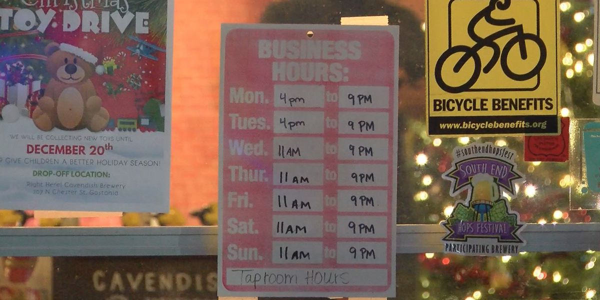 Gaston County businesses adapting on second night of state curfew