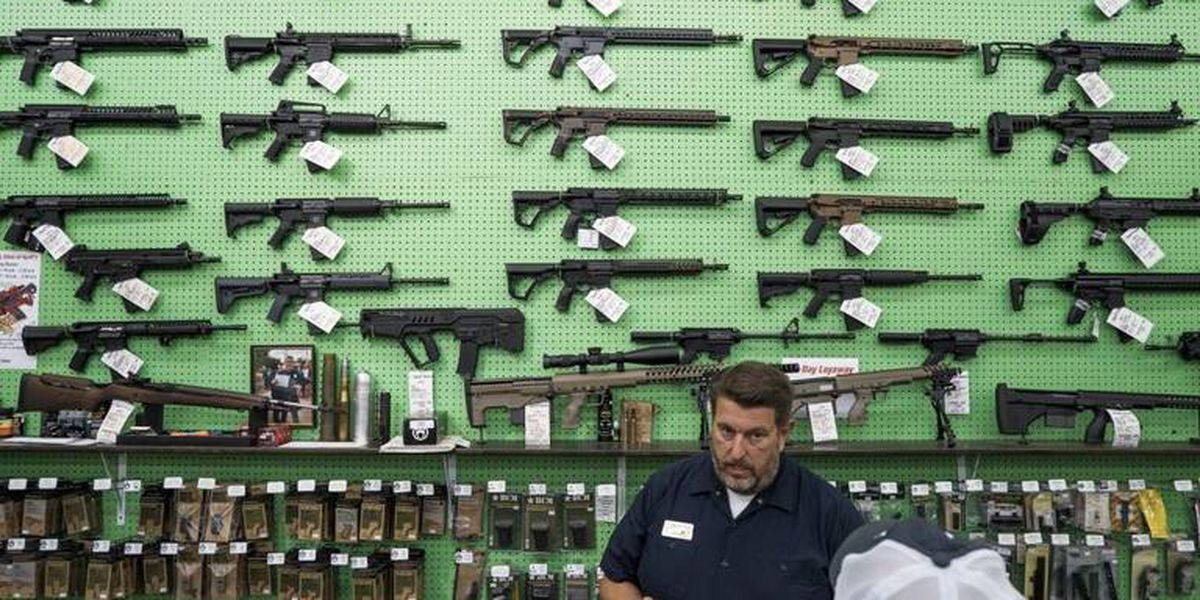 Gun sales soar as buyers fear uncertainty of coronavirus shutdowns, sinking economy