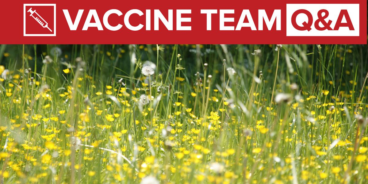 VACCINE TEAM: Can I take allergy medication before getting COVID-19 vaccination?