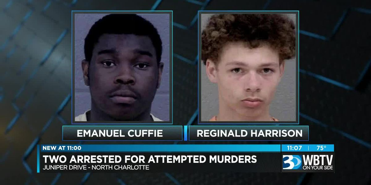 2 charged in connection with drive-by shooting that left 1 injured in Charlotte