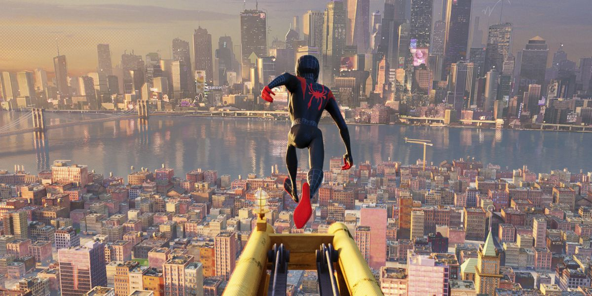 'Spider-Verse' swings to the top; 'Mortal Engines' tanks