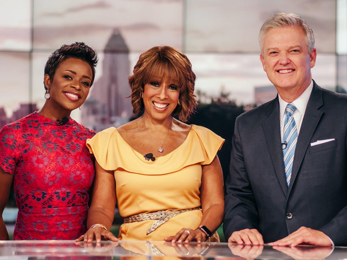 CBS' Gayle King visits WBTV for 70th anniversary celebration