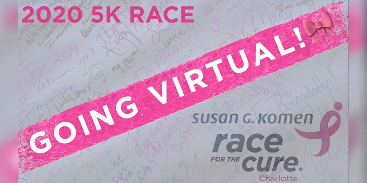 Komen Charlotte's Race for the Cure is going virtual in 2020
