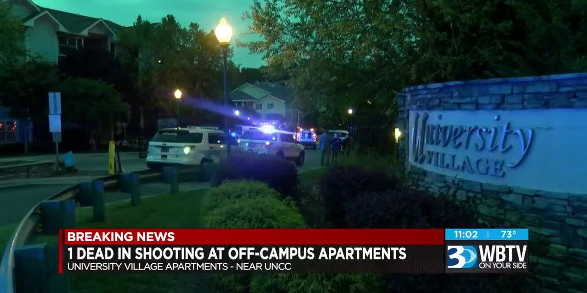 Person shot, killed after fight at apartment complex near UNC Charlotte